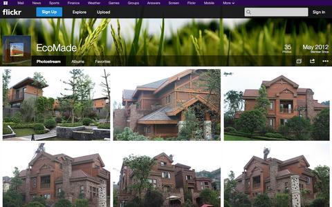 Screenshot of Flickr Page flickr.com - Flickr: EcoMade's Photostream - captured Oct. 22, 2014