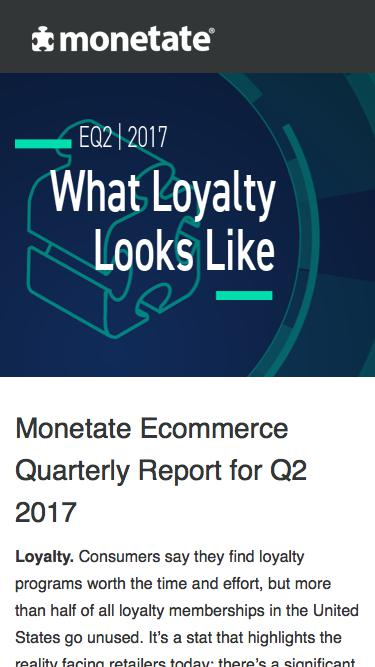 The Ecommerce Quarterly Report for Q2 2017 | Research from Monetate