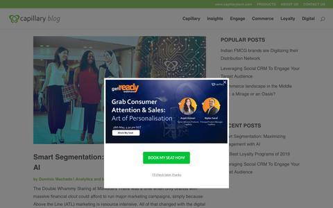 Screenshot of Blog capillarytech.com - Capillary Blog   Get the latest Retail Insights, Trends & Tips - captured May 22, 2019