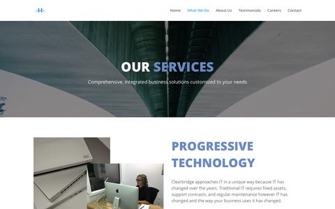 Services | Clearbridge