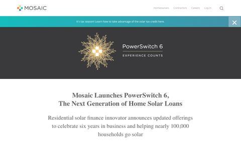 Screenshot of Press Page joinmosaic.com - Press - Join Mosaic - captured May 13, 2019