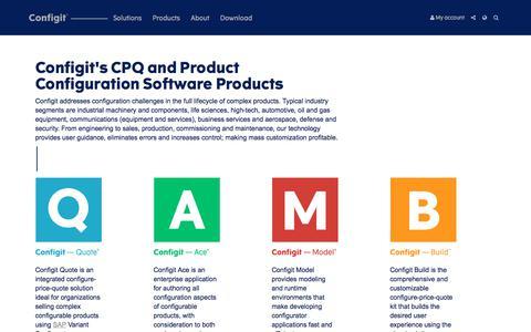 Products — Configit