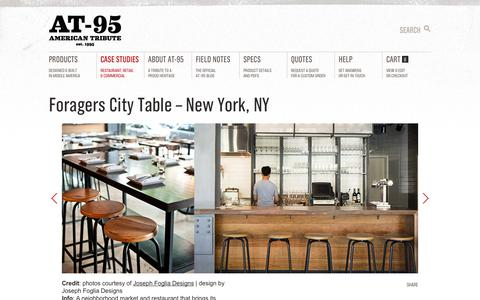 Screenshot of Case Studies Page at-95.com - Case Studies | AT-95 - captured Sept. 30, 2014