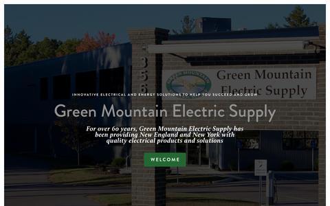 Screenshot of Home Page gmes.com - GMES - captured Sept. 20, 2017