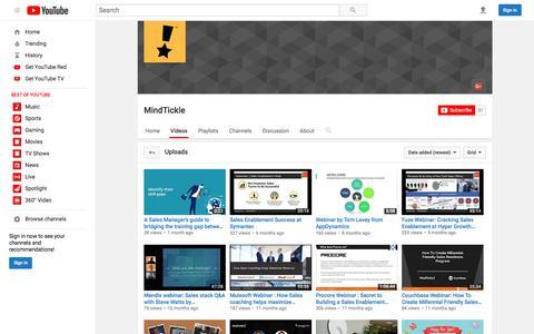 MindTickle  - YouTube