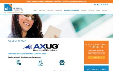 Microsoft Dynamics AX User Group