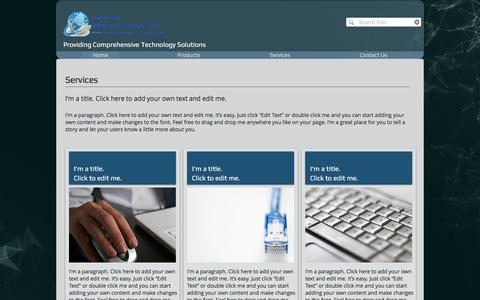 Screenshot of Services Page premiersmbsolutions.com - Premier SMB Solutions, LLC. | Managed Services - captured Nov. 11, 2016