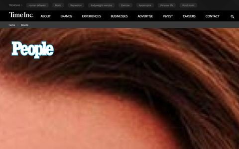 Screenshot of Team Page timeinc.com - timeinc.com|people - captured Sept. 18, 2014