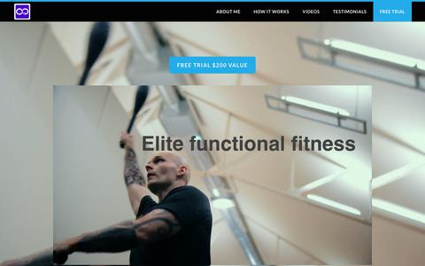 Screenshot of Contact Page Trial Page everyday-athletics.com - elite functional fitness - EVERYDAY-ATHLETICS - captured Sept. 25, 2018