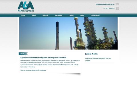 Screenshot of Press Page a6assessment.co.uk - Latest News Archive | A6AssessmentA6Assessment - captured Sept. 30, 2014