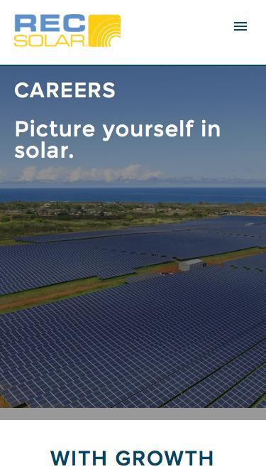 Careers | REC Solar