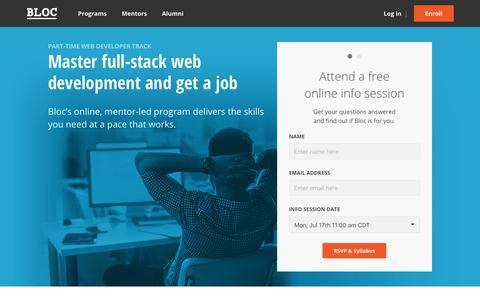 Bloc | Online Courses in Web Development, Mobile Development, and Design