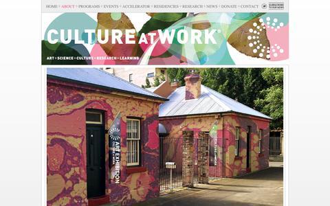 Screenshot of About Page cultureatwork.com.au - CULTURE AT WORK® : Culture at Work - captured July 23, 2018