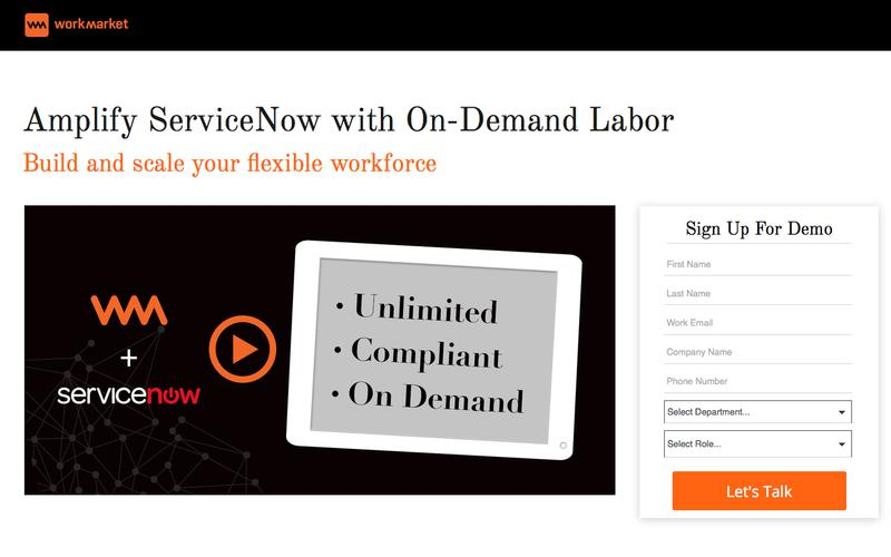 Amplify ServiceNow with On-Demand Labor