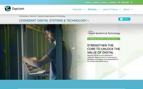 IT Transformation & Security Consulting – Digital Systems | Cognizant