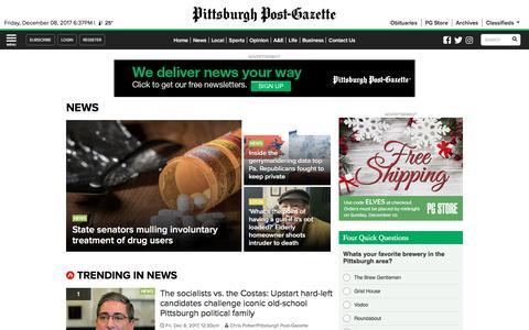 News | Pittsburgh Post-Gazette