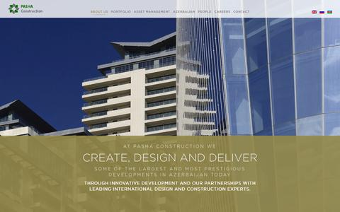 Screenshot of About Page pashaconstruction.com - About us | Pasha Construction - captured Dec. 7, 2015