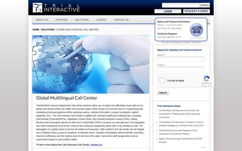 Global Multilingual Call Center | TransPerfect