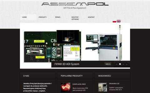 Screenshot of FAQ Page assempol.com - Assempol Sp. z o.o. - captured Sept. 30, 2014
