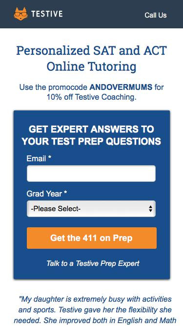 Personalized SAT and ACT Online Tutoring | Testive