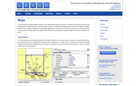 Screenshot of Maps & Directions Page lexco.com - Maps | Tomball Texas US |  Lexco - captured Oct. 2, 2014