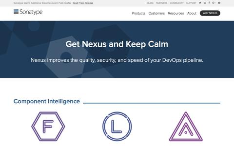 Get Nexus Products | Accelerate Software Innovation - Sonatype