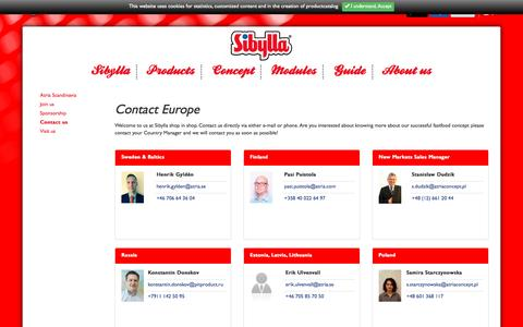 Screenshot of Contact Page sibyllashopinshop.com - Contact us - About usSibylla shop in shop - captured Nov. 19, 2016
