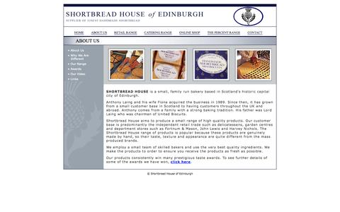 Screenshot of About Page shortbreadhouse.com - About Us | Shortbread House of Edinburgh - captured Oct. 7, 2014