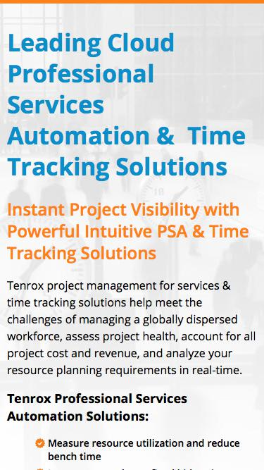 Project Workforce Management for Service Organizations