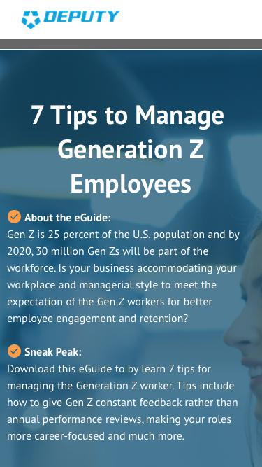 7 Tips to Manage Generation Z Employees