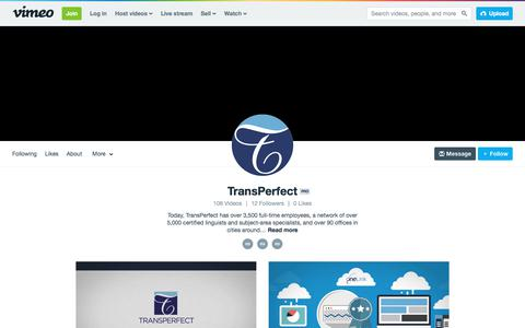 TransPerfect on Vimeo