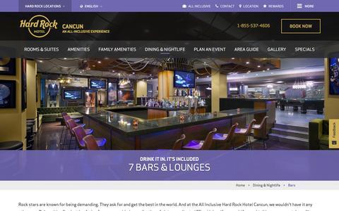 Bars in Cancun | Hard Rock Hotel Cancun