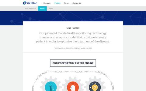 Patent in Mobile Health Monitoring | WellDoc