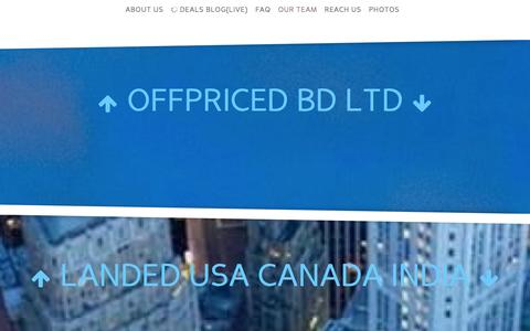 Screenshot of Team Page offpriced.com - Largest Stocklot Exporter From Bangladesh I Our team - captured Oct. 29, 2014