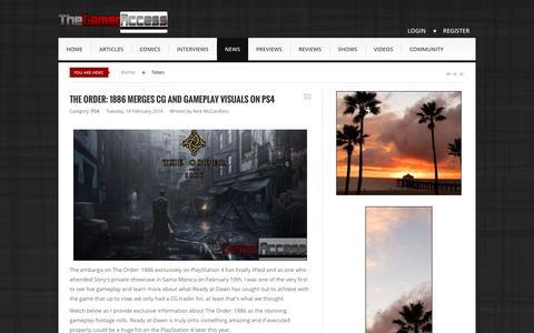 Screenshot of Press Page thegameraccess.com - News - TheGamerAccess.com - captured Sept. 18, 2014
