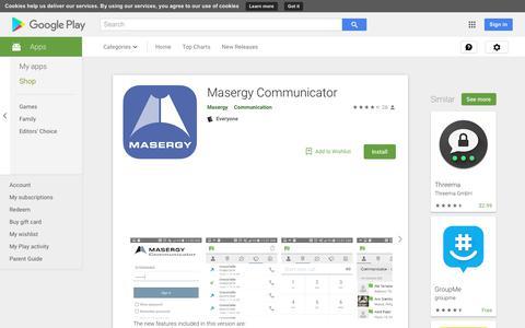 Masergy Communicator - Apps on Google Play
