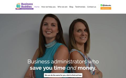 Screenshot of Home Page business-buddies.co.uk - Home | Basingstoke | Business Buddies - captured Nov. 6, 2018