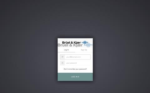 Screenshot of Case Studies Page bksv.com - Sign In with Auth0 - captured Sept. 18, 2019