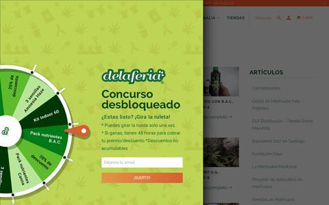 Screenshot of Press Page delaferia.cl - Seguimiento Interior LED Piranha, Dutch Passion, B.A.C.  - Delaferia Chile - captured Nov. 6, 2018