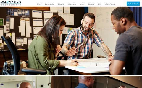 Screenshot of Team Page jasonkindig.com - Jason Kindig | Dallas Commercial Lifestyle Photographer - captured Oct. 16, 2017