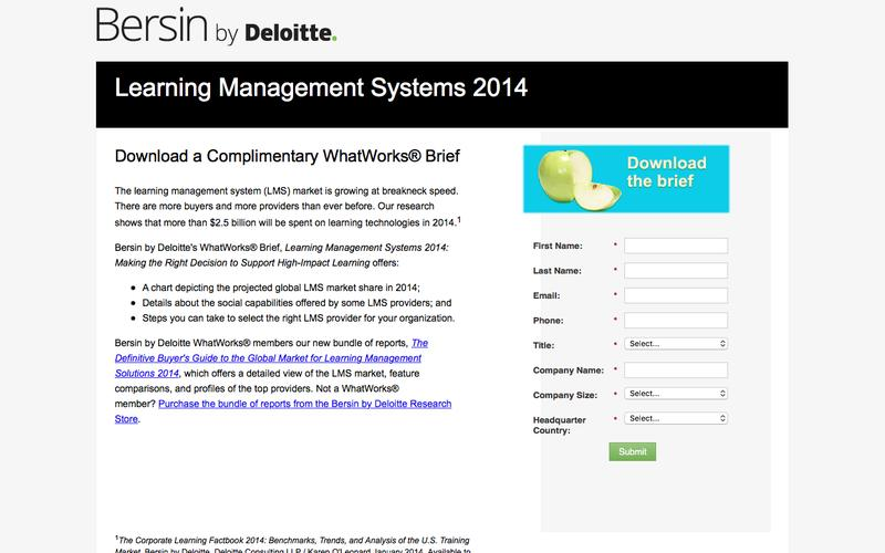 Learning Management Systems 2014