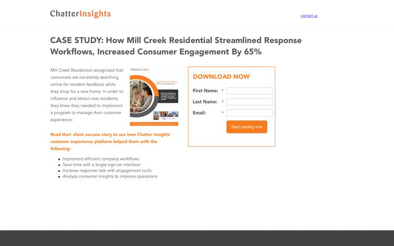 Case Study: How Mill Creek Residential Streamlined Response Workflows, Increased Consumer Engagement By 65%
