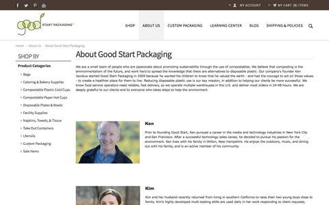 Screenshot of About Page goodstartpackaging.com - About Good Start Packaging - captured Dec. 12, 2015