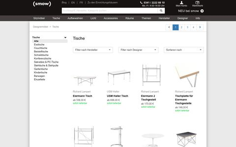 Design-Tische bei smow.de