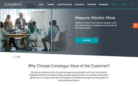 Convergys Analytics | Voice of the Customer