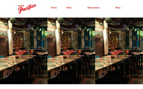 Screenshot of Home Page cafe-pacifico.com - Cafe Pacifico Mexican Restaurant | 5 Langley St | Covent Garden - captured Jan. 8, 2018