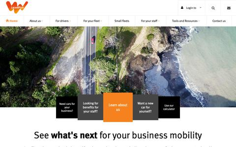 Screenshot of Home Page leaseplan.com.au - Fleet Management - Car Leasing - Salary Packaging | LeasePlan - captured Sept. 27, 2018