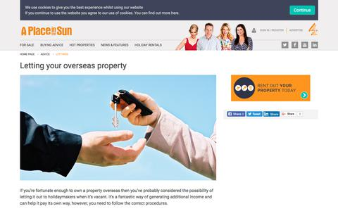 How to Let your Overseas Rental Property