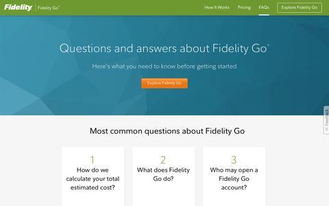 Affordable & Professional Online Money Management   Fidelity
