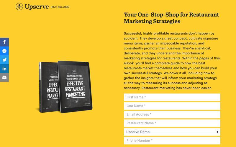 Restaurant Marketing Strategies Made Easy | Upserve